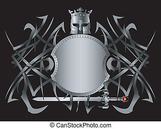 hellenic fantasy shield