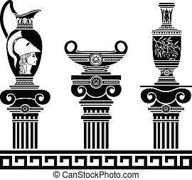 Hellenic, jogo, Vasos
