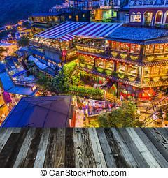 helling, juifen, teahouses, taiwan