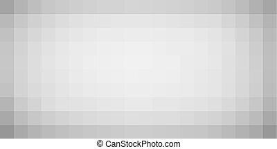 helling, muur, pixel, vignet, effect