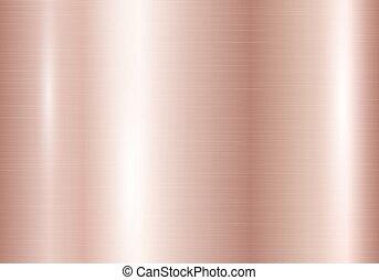 helling, roze, strepen, goud