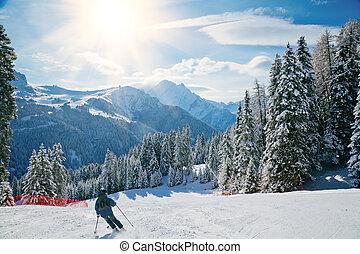 helling, ski