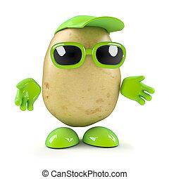 Hello 3d Potato