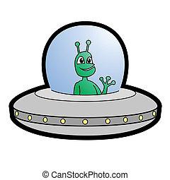 Hello alien