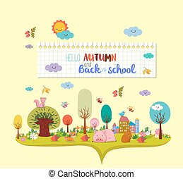 hello autumn and back to school