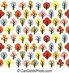 Hello Autumn. Autumn trees background.