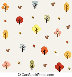Hello Autumn. Autumn trees background.