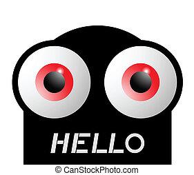 Hello eyes