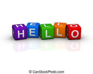 HELLO (from colorful buzzword series)