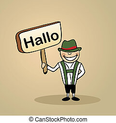 Hello from germany people design
