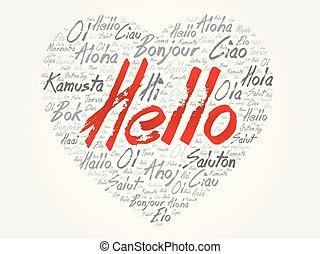 Hello Heart word cloud