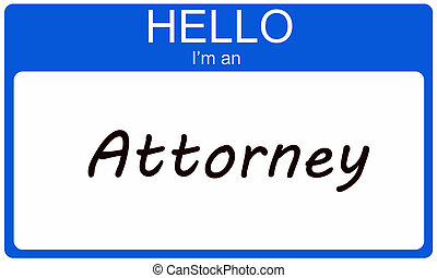 Hello I'm an Attorney
