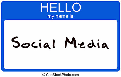 Hello My Name Is Social Media