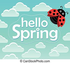 Hello spring theme