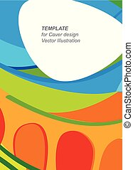 Hello Summer abstract greeting card - Olympic and Paralympic...