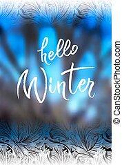 Hello winter lettering - Hello winter brush lettering ...
