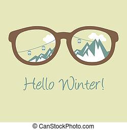 Hello Winter poster