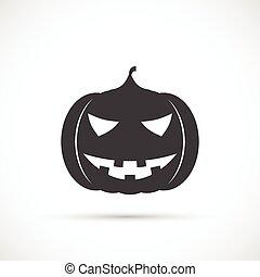 Helloween pumpkin icon