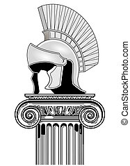 Helm and column