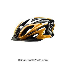 helm, fiets