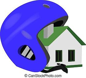 helm, huisvesting, verzekering, landgoed