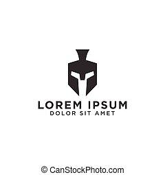 helm, spartan, mal, logo