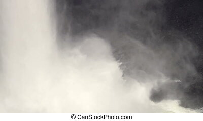 Helmcken Falls - Base of Helmcken Falls in Wells Gray...