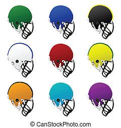 helmen, voetbal