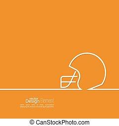 Helmet American Football