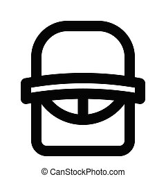 HELMET icon line style for all project