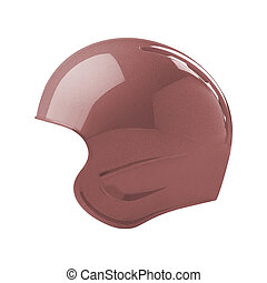 helmet isolated on white