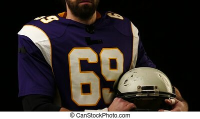 Head protection helmet for American Football Player