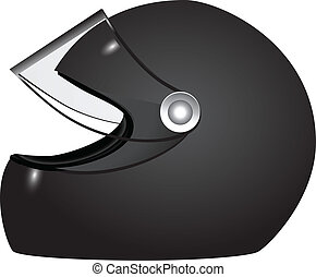 Helmet racer - Racer helmet - accessory athlete uniforms....