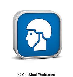 Helmet sign