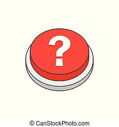 Help button. Question sign icon.
