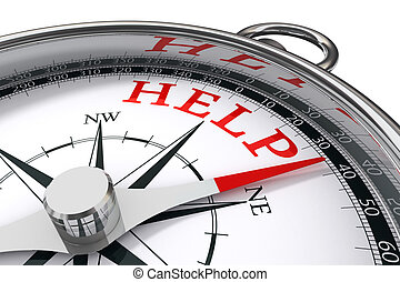help concept compass - help indicated by concept compass on ...