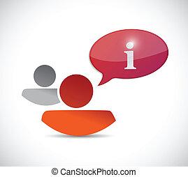 help concept illustration design
