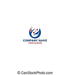 Help Fast Medical Logo Design Vector