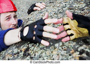 help for climber