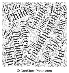 Help from Grandparents with Diabetic Children Word Cloud...