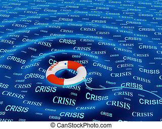 Help in a crisis situation - Conceptual image - help in a...