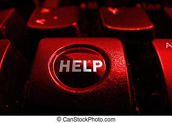 HELP keyboard button