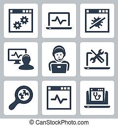 help-line, állhatatos, vektor, computer icons