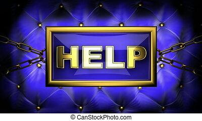 help on velvet background