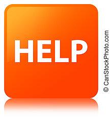 Help orange square button