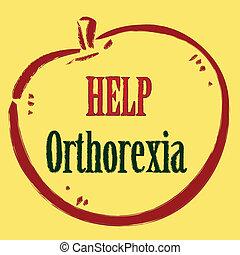 Help orthorexia - Mania for healthy lifestyle