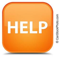 Help special orange square button