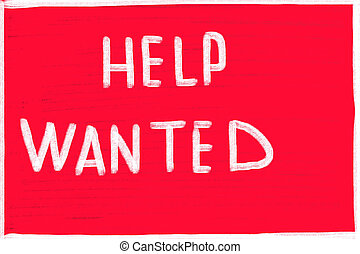 help wanted concept