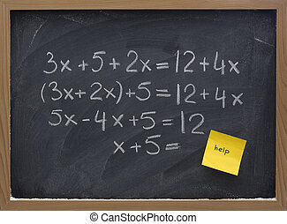 help with math concept