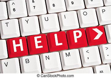Help word on keyboard